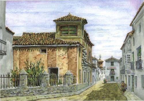 """""""La Casa de las dos puertas, años 60"""", por Santiago Almarza"""