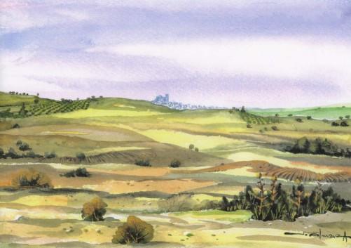 """""""Campos de Abajo"""", por Santiago Almarza"""