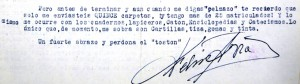 Solicitud de material escolar (D. Félix Avia, 1957)