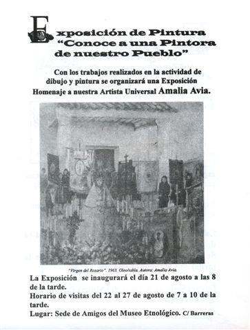 Exposición-taller Amalia Avia